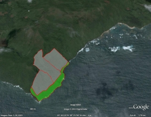 282.892 m2 at 3 usd per m2 Ermitano - Samana